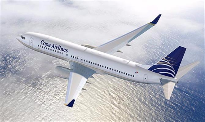 avião copa airlines,copa airlines