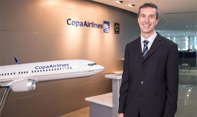 Christophe Didier, vice-presidente global de Vendas da Copa Airlines