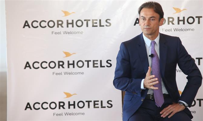Patrick Mendes, CEO da Accor América do Sul