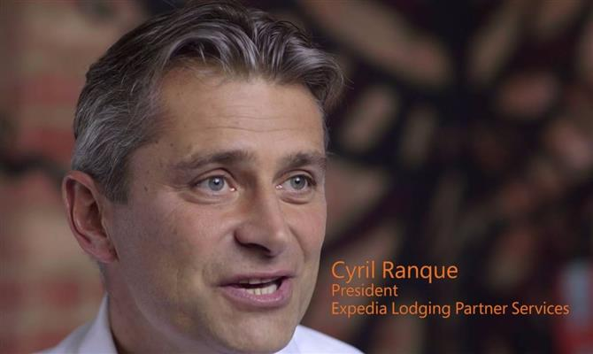 Cyril Ranque, presidente do Travel Partners Group do Expedia Group