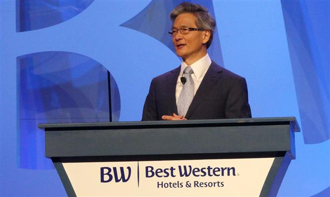 CEO da Best Western, David Kong