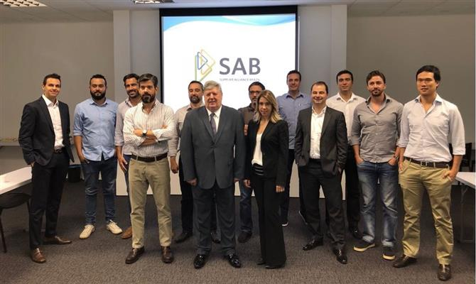 Integrantes da Supplier Alliance Brazil