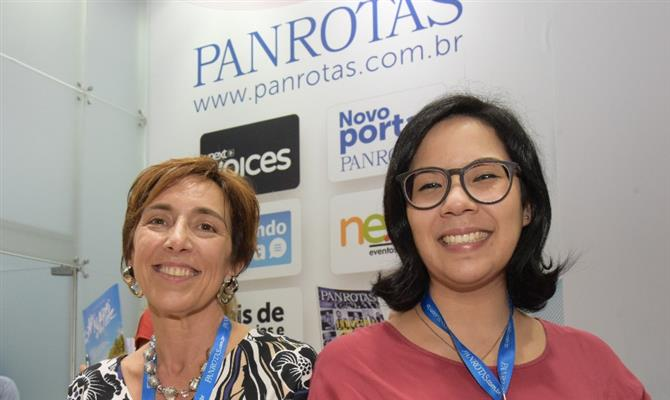 Karina Rucco e Beatriz Yumi, da Real Time Solutions