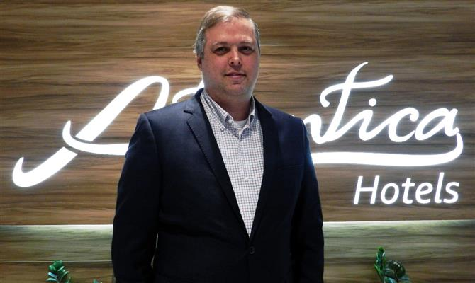 Leonardo Rispoli, VP de Marketing e Vendas da Atlantica Hotels