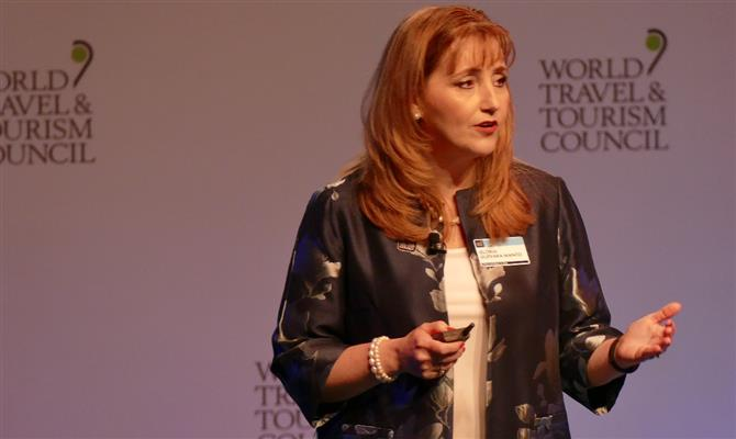 Gloria Guevara, presidente e CEO do WTTC