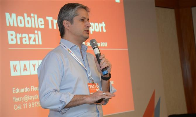 O country manager do Kayak no Brasil, Eduardo Fleury