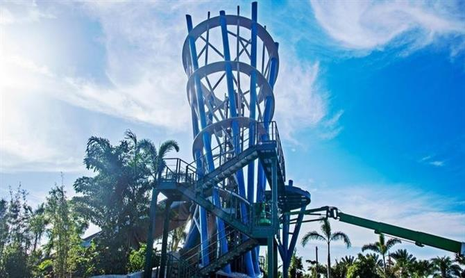 Infinity Falls, a inauguração mais recente do Sea World Orlando