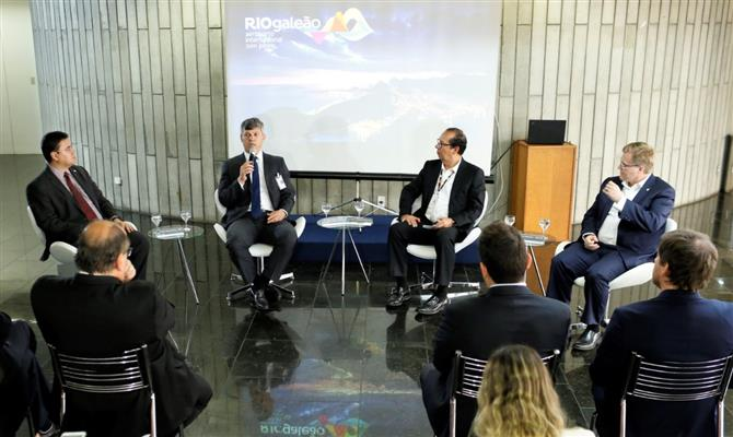Evento reuniu grandes autoridades do setor no Aeroporto Internacional Tom Jobim