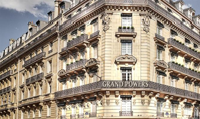 Hotel Grand Powers, em Paris