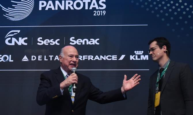 Guillermo Alcorta, presidente da PANROTAS, e Deltan Dallagnol