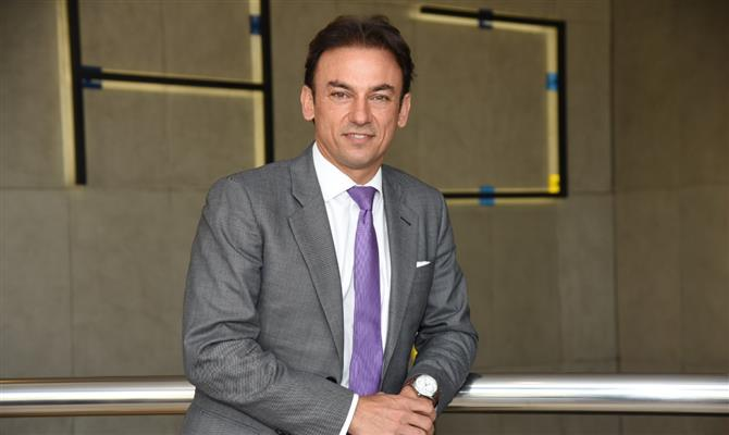 Patrick Mendes, presidente da Accor na América do Sul