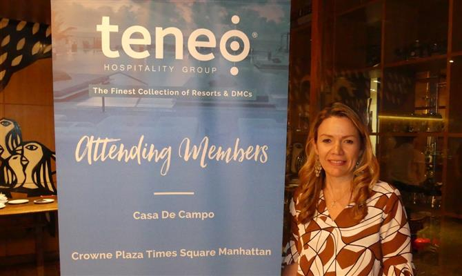 Constanza Thornton, do Teneo Hospitality Group