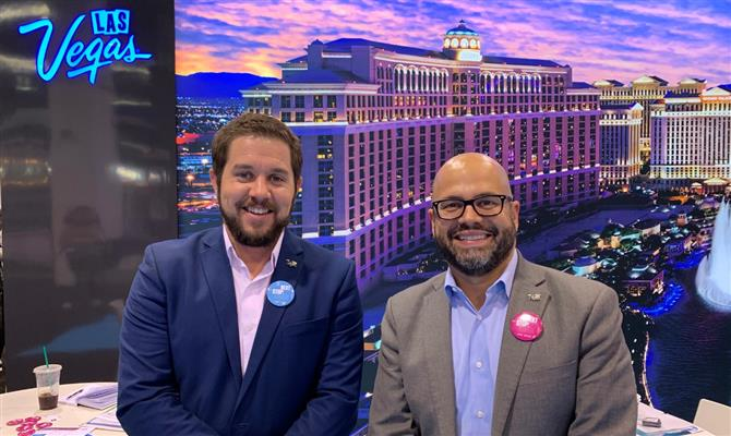 Zachary Smith e Fernando Hurtado, do Las Vegas CVA