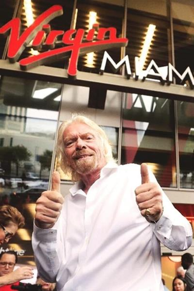 Richard Branson, fundador do grupo Virgin