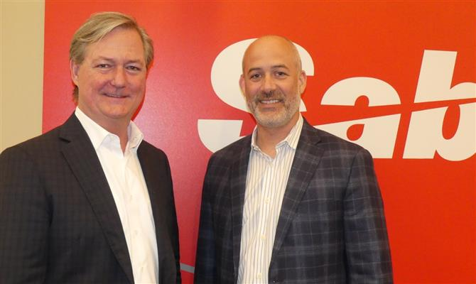 Wade Jones e Brett Burgess, do Sabre Travel Network