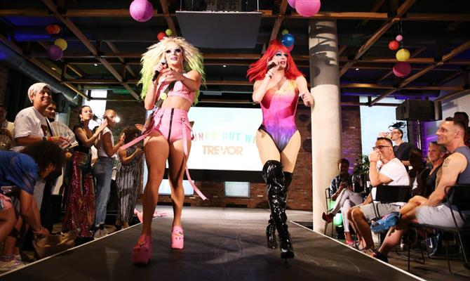 Drag queens agitaram evento nos Estados Unidos