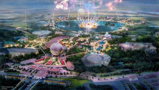 Novo Epcot Sai Do Papel Em 2020 Na Disney World Destinos
