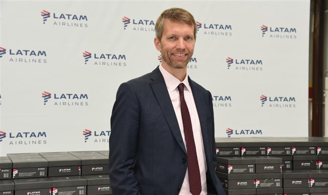 Jerome Cadier, CEO da Latam Airlines Brasil