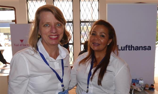Christina Binnie e Cristina Martins, do Grupo Lufthansa