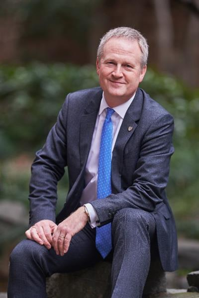 Geoff Andrew, CEO da WorldHotels