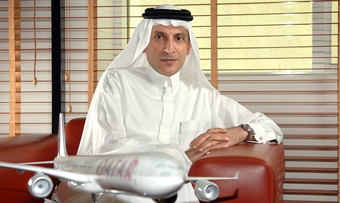 Akbar al-Bake, CEO da Qatar Airways