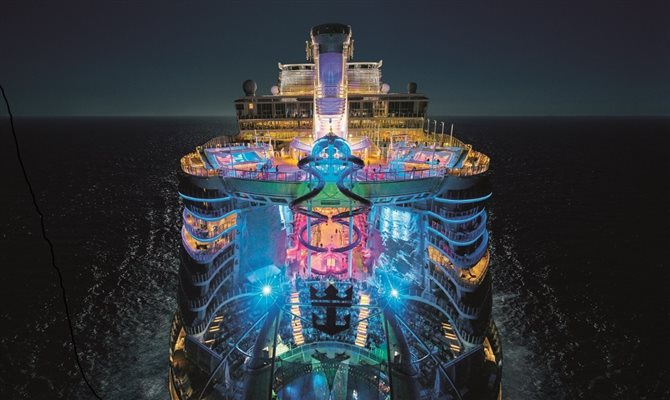 Symphony of the Seas, do Grupo Royal Caribbean