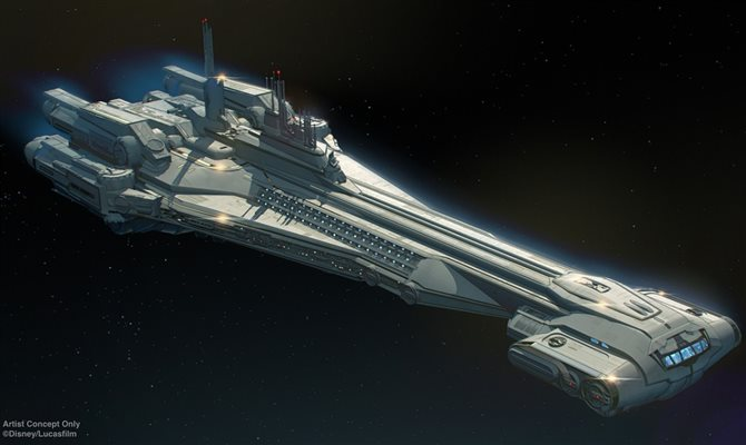 A Galactic Starcruise