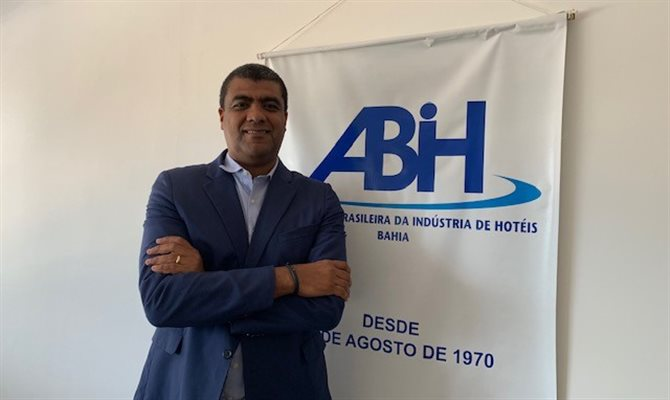 Luciano Lopes, atual diretor de Marketing e novo presidente da ABIH-BA